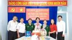 LĐLĐ Q.11 cùng Ban Thường trực UB.MTTQ cùng BTV các tổ chức đoàn thể như Hội LHPN, Quận đoàn, Hội CTĐ đến thăm, chúc mừng kỷ niệm 29 năm ngày thành lập Hội Cựu Chiến binh Việt Nam (06/12/1989 – 06/12/2018).