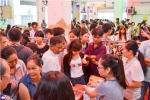 LĐLĐ Q.11 tổ chức phiên chợ nghĩa tình công nhân - mua bán trao đổi hàng hóa
