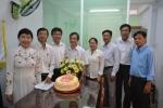 LĐLĐ Quận 11 tổ chức thăm và chúc mừng Hội Chữ thập đỏ Quận 11 nhân kỷ niệm 69 năm thành lập Hội chữ thập đỏ Việt Nam.