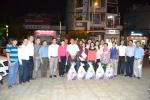 LĐLĐ Quận 11 thăm và chúc tết công nhân dịch vụ công ích đêm 30 tết.