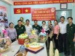 LĐLĐ, MTTQ, Hội LHPN, Hội CTĐ, Quận Đoàn quận 11 cùng đến thăm Hội CCB quận 11 và chúc mừng kỷ niệm 28 năm ngày thành lập Hội Cựu Chiến binh Việt Nam (06/12/1989 – 06/12/2017).