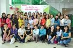 LĐLĐ Q.11 tổ chức họp mặt nữ cán bộ công đoàn nhân kỷ niệm ngày Quốc tế Phụ nữ 8/3 và kết hợp buổi giao lưu học tập thực tế công ty Yakult và gốm sứ Minh Long.